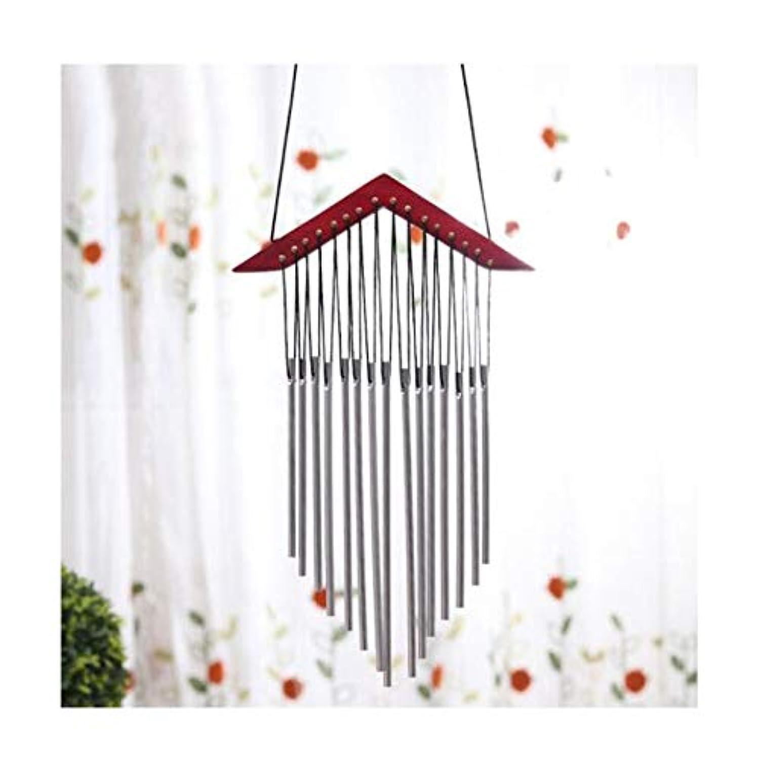 ライセンス岸モニター風チャイム、ソリッドウッド金属管音楽風チャイム、ベッドルームバルコニーペンダント、クリエイティブかわいい風チャイムドアの装飾をぶら下げ (Color : 4, Size : 45cm)