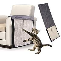 Lightton 猫 つめとぎ 爪とぎ マット 猫 爪とぎ サイザル麻マット 家具保護 取り付け簡単 多機能 しつけ用品