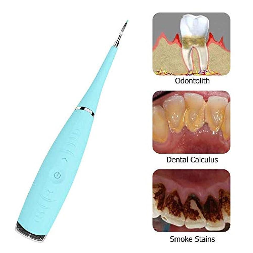 宇宙飛行士動機貸す電気歯科微積分除去スクレーパープラーク歯石歯石除去歯のクリーニングツール、Uspによって供給Ipx6防水水フロス歯のクリーナー,Blue