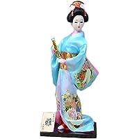 和風の美しい着物芸者/舞妓人形/ギフト/ジュエリー-A20