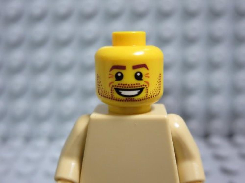 レゴ ミニフィグ 【ヘッド】 bpb606