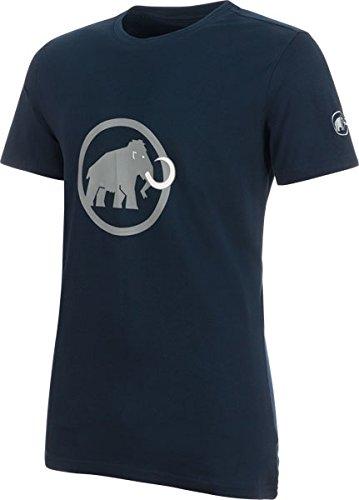 [マムート] メンズ トップス ロゴ Tシャツ AF マリン-グラニート 1017-00480 5993 Medium