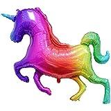 KESOTO バルーン カラフル 風船 虹のユニコーン パーティー 装飾