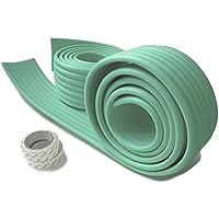 赤ちゃん ケガ防止 ガード コーナークッション ( 2m×2セット) 自由自在 かんたん設置 取付説明書付 カラー7色 両面テープ付き!
