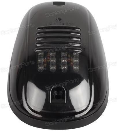 RaiFu LEDライト スモーク ブラックカバー 12LE...
