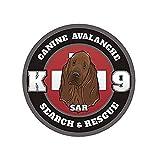 Hot Plates ブラッドハウンド・アバランチ SAR K-9 デカール検索レスキュー犬ビニールステッカー