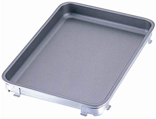 IKDアルミフッ素タイプ餃子&生鮮バット 10枚取 [ 間口:350 x 奥行:265 x H45mm ] [ 料理道具 ] | 厨房 飲食店 給食 社食 レストラン 業務用