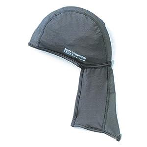 おたふく手袋 ボディータフネス 冷感・消臭 パワーストレッチ カバー付ヘッドキャップ JW-613