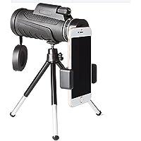 jrc- MonocularTelescope防水Spotting Scope Lowナイトビジョン12 x 50デュアルフォーカス光学式クラスbak- 4プリズム直径50 mm with三脚携帯電話ホルダーほとんどの携帯電話、含まoptics-wide角度