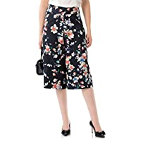 Review Women's Swing into Spring Culottes Navy/Multi