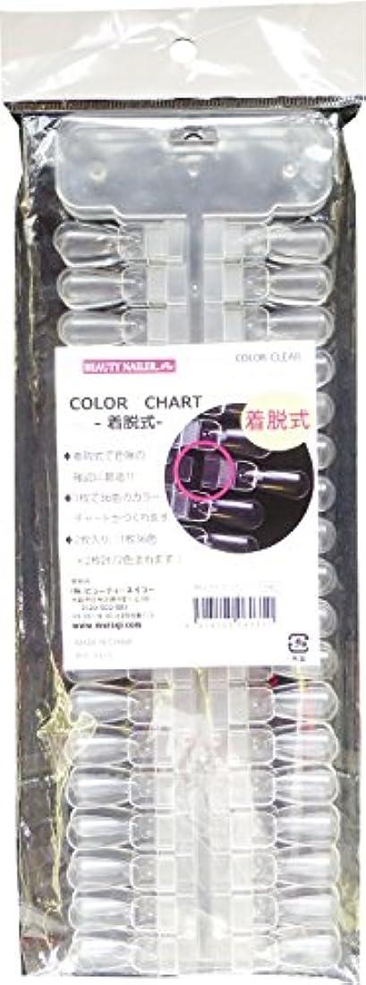 カラーチャート 着脱式 NCC-11