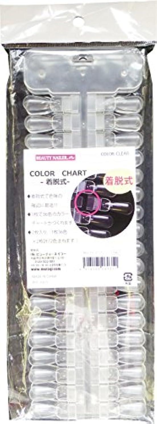 節約する香ばしいピンカラーチャート 着脱式 NCC-11