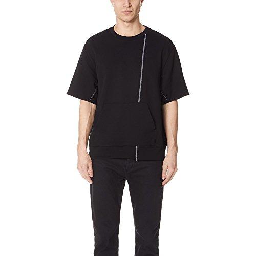 (スリーワン フィリップ リム) 3.1 Phillip Lim メンズ トップス スウェット・トレーナー Short Sleeve Reconstructed Sweatshirt [並行輸入品]