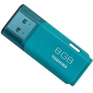 東芝 TOSHIBA USBフラッシュメモリ 8GB Windows/Mac対応 [並行輸入品] (8GB, ブルー)