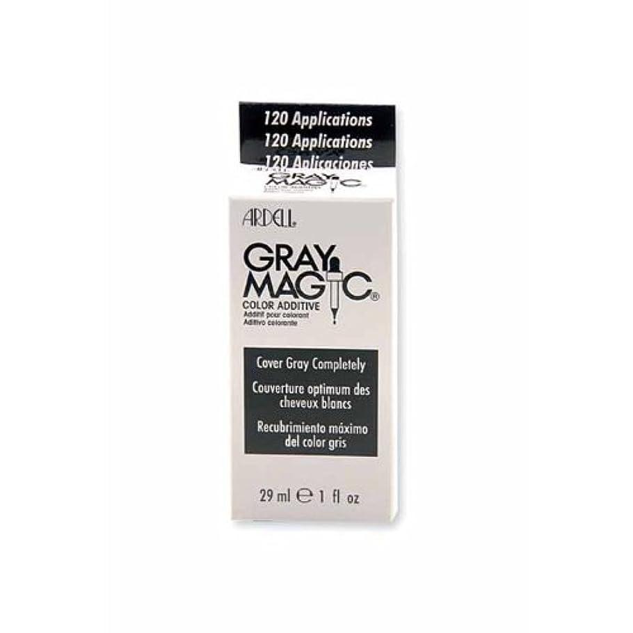 批判的放射能常習的グレーマジック白髪染め 30ml (並行輸入品)