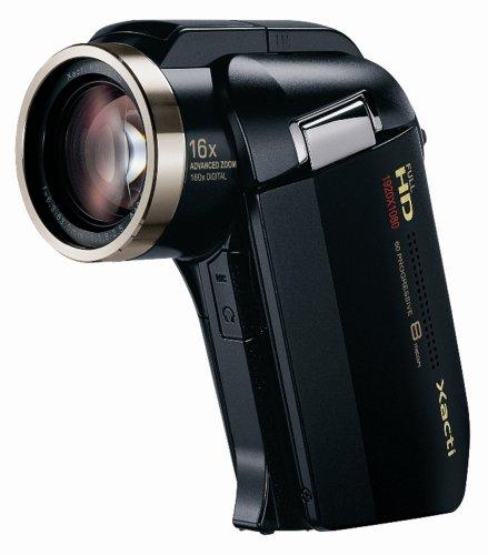 SANYO フルハイビジョン デジタルムービーカメラ Xacti (ザクティ) DMX-HD2000 ブラック DMX-HD2000(K)