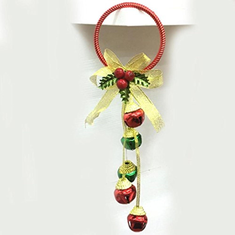 inverleeクリスマスツリー用品Bell Hanging Decorationドア壁ホームオーナメントパーティーHanging Decor