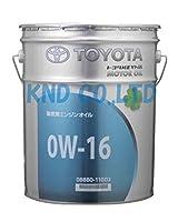 TOYOTA エンジンオイル キヤッスル アクア専用オイル SN 0W-16 20L