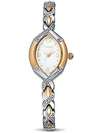 Time100 ラインストーン チェーンブレスレット レディース腕時計 日本製ムーブメント #W50170L.01A