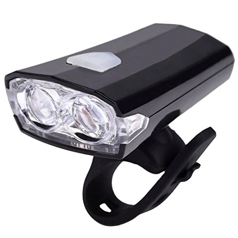 把握ペルー写真撮影B095』NinoLite 自転車 用 ヘッド ライト 軽量 LED長寿命 繰返し 充電式 取付工具不要 耐水性