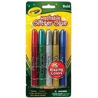 6パックWash Glitter Glue太字5 CT Drafting , Engineering ,アート( General Catalog )