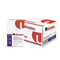 ユニバーサル®明るいホワイトMultipurposeコピー用紙ペーパー、Xero / DUP、LGL、98b、We (パックof2)