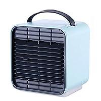 ミニファン 卓上冷風機 手持ち冷風扇 携帯扇風機 USB扇風機 USB充電 首に掛ける 持ち運び 夏用