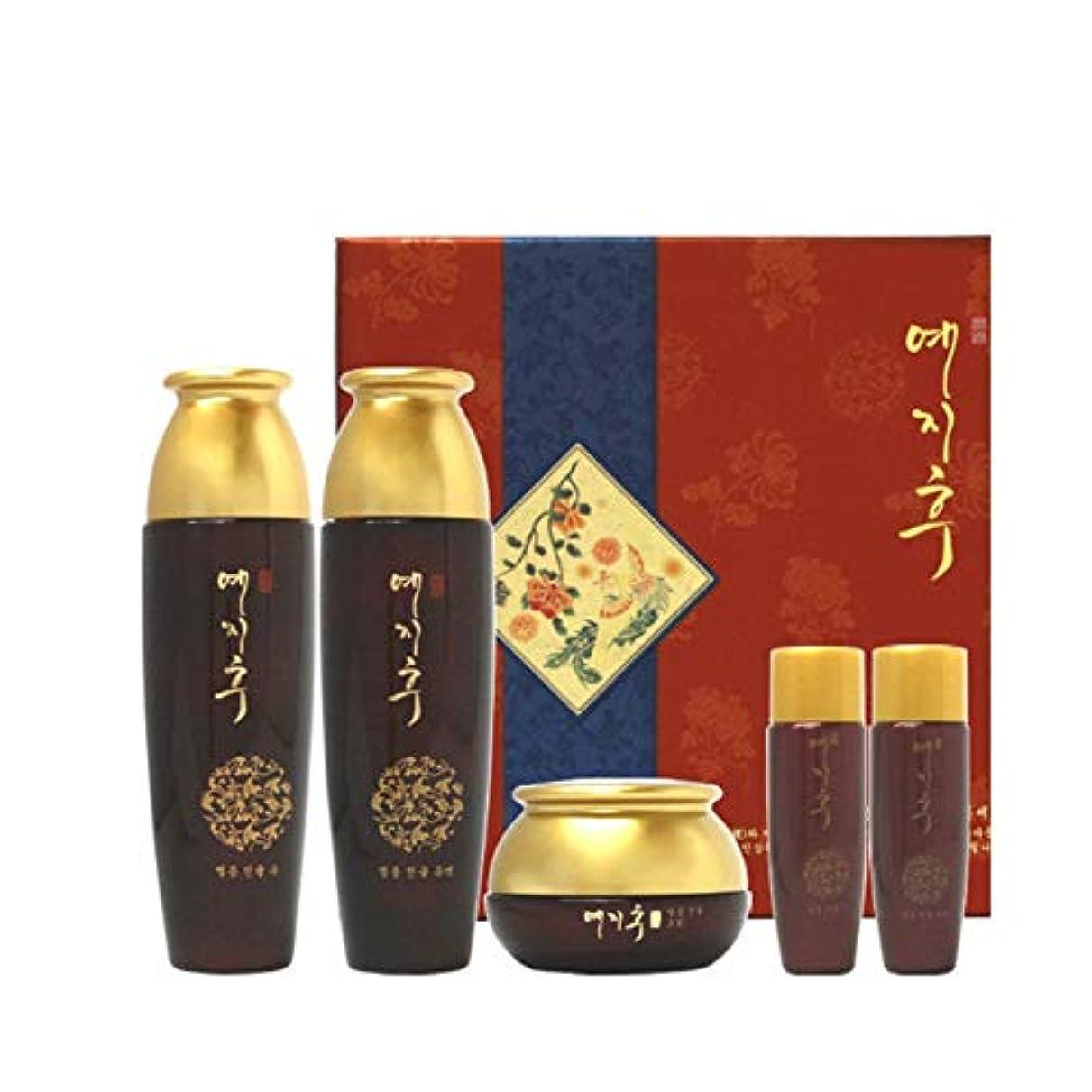 温度計やりすぎ初期イェジフブランドジャムヤング女性3種セットジンユル水180ml(150+30)ジンユル乳液180ml(150+30)ジンユルクリーム50g、Yezihu 3 Sets of Women's Luxury Cosmetics...
