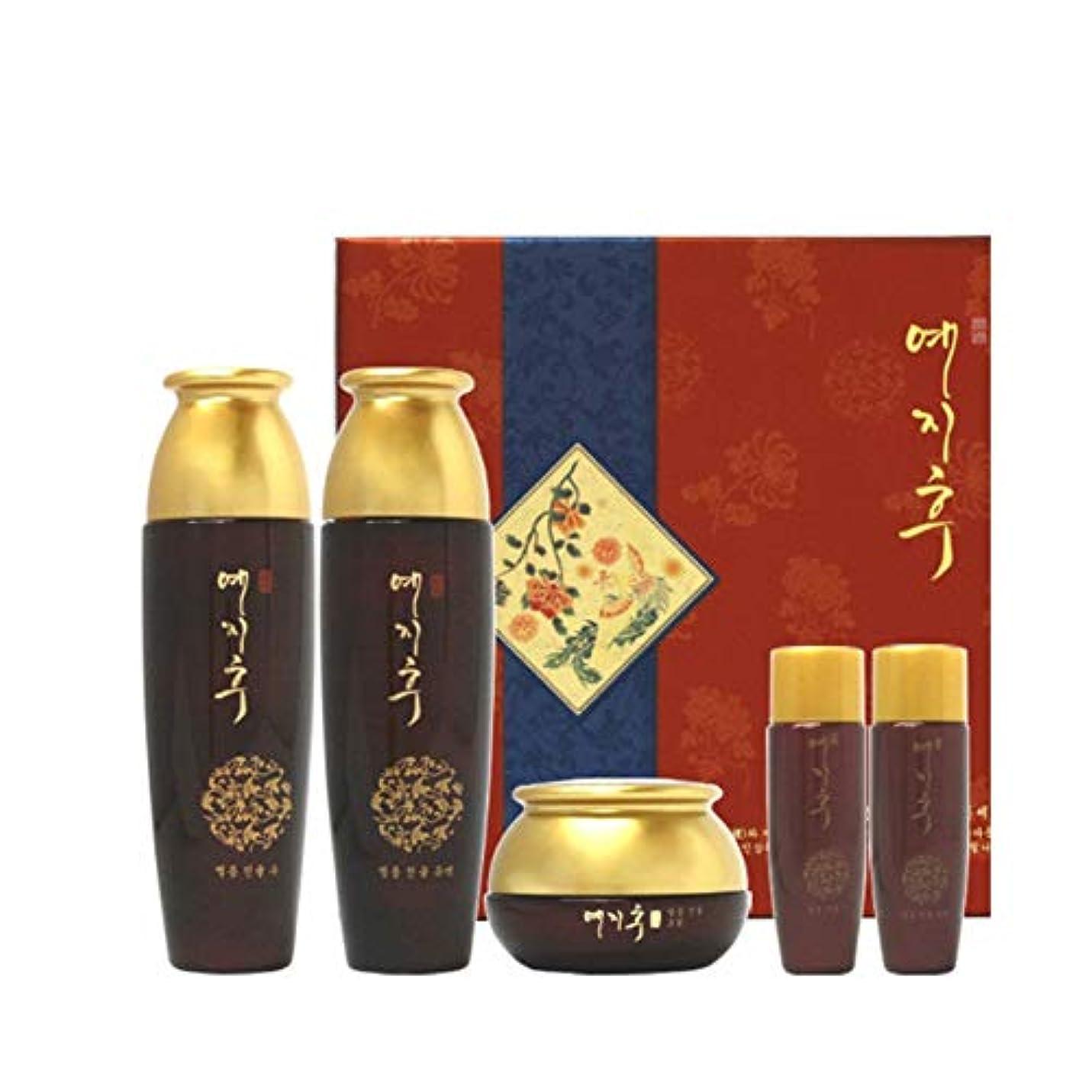 褐色常習的自転車イェジフブランドジャムヤング女性3種セットジンユル水180ml(150+30)ジンユル乳液180ml(150+30)ジンユルクリーム50g、Yezihu 3 Sets of Women's Luxury Cosmetics...