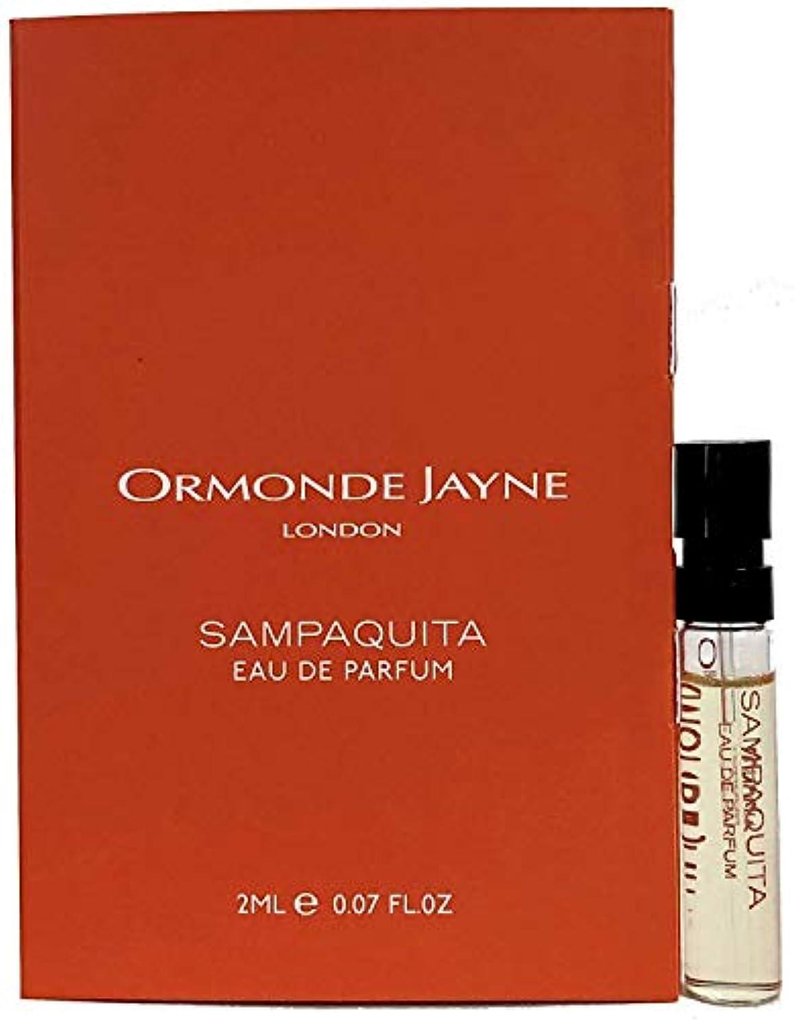 理解ワーディアンケース矛盾するオーモンド ジェーン サンパキータ オードパルファン 2ml(Ormonde Jayne SAMPAQUITA EDP Vial Sample 2ml)