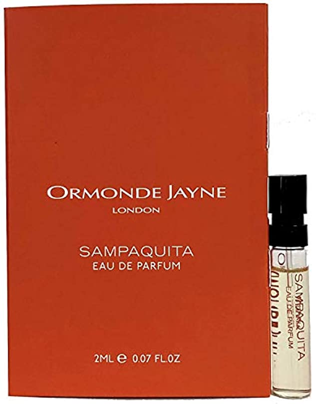 爆風飽和するコミットオーモンド ジェーン サンパキータ オードパルファン 2ml(Ormonde Jayne SAMPAQUITA EDP Vial Sample 2ml)