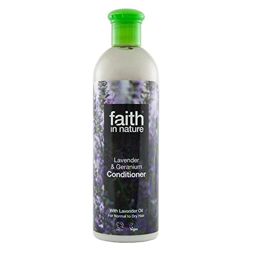 弱める専制遅れFaith in Nature Lavender & Geranium Conditioner 400ml - (Faith In Nature) 自然ラベンダー&ゼラニウムコンディショナー400ミリリットルの信仰 [並行輸入品]