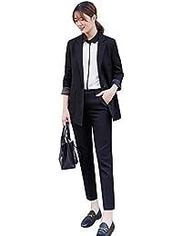 パンツスーツ レディース セットアップ大きいサイズフォーマル テーラードジャケット ブラック就活スーツ 結婚式 卒業式入学式ママol スーツビジネス 通勤