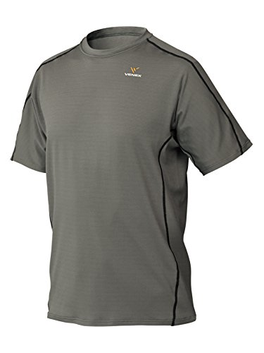 VENEX ( ベネクス ) リカバリーウェア リラックス ショートスリーブ メンズ スモーキーグレー XL インナー Tシャツ パジャマ