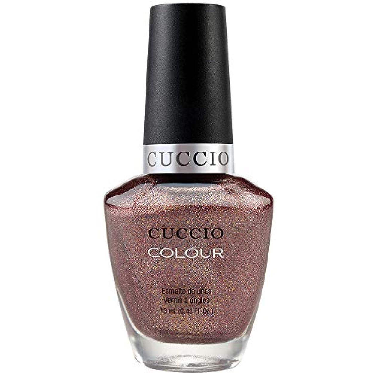 含む蒸し器士気Cuccio Colour Gloss Lacquer - Coffee, Tea or Me - 0.43oz / 13ml