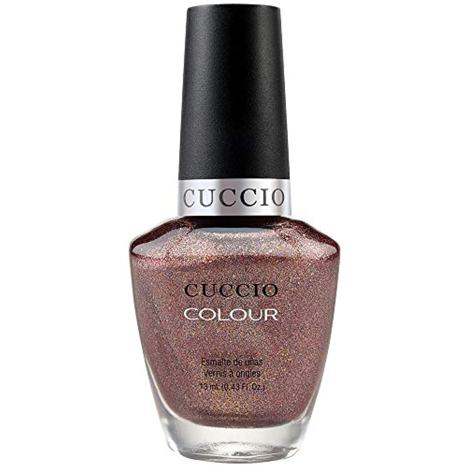 静める離れた特徴づけるCuccio Colour Gloss Lacquer - Coffee, Tea or Me - 0.43oz / 13ml