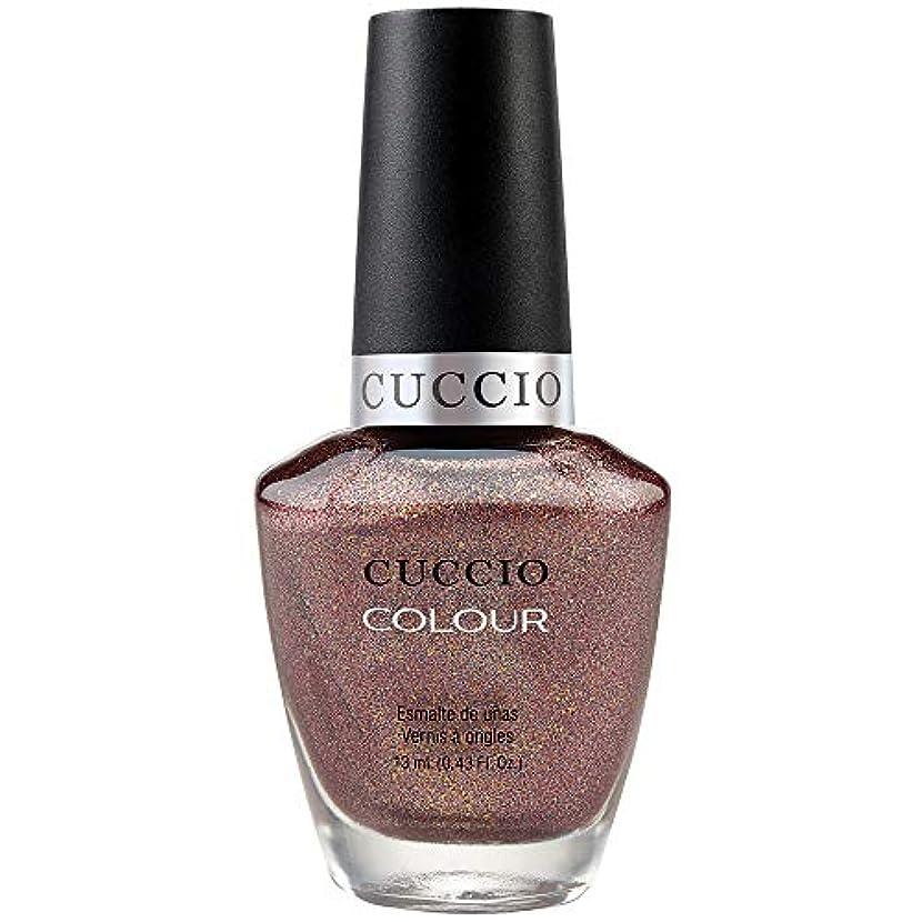 指ロースト粒Cuccio Colour Gloss Lacquer - Coffee, Tea or Me - 0.43oz / 13ml