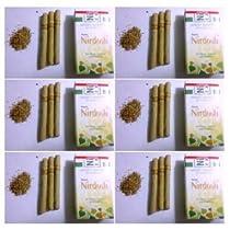 NIRDOSH HERBAL FILTER DHOOMPAN - Pack of 10 Cigs - Made with Ayurvedic Herbs (Pack of 6)