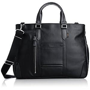 [エバウィン] ビジネスバッグ 日本製 撥水加工 21598 BK ブラック