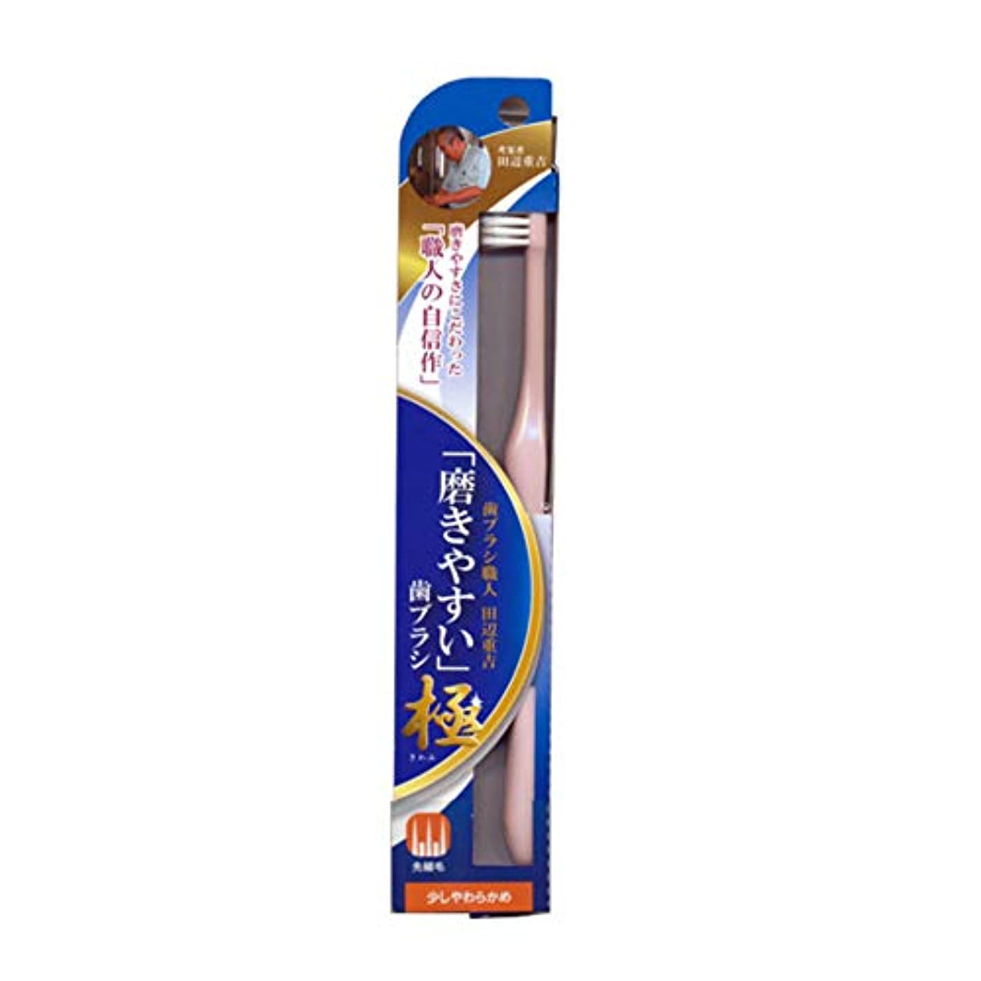 ローブあいにく評価磨きやすい歯ブラシ極 (少し柔らかめ) LT-43 先細毛(色選択不可)