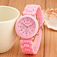 Compact Silicone Band Quartz Wristwatches Universal Wrist Watch Portable Women Sports Clocks Luxury Girl Watch