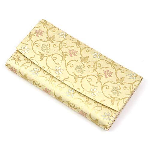 【茶道具 袱紗ばさみ・懐紙入れ】 三つ折帛紗ばさみ 蔓小花