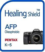 Healingshield スキンシール液晶保護フィルム Oleophobic AFP Clear Film for PENTAX Camera K-5 [2pcs]