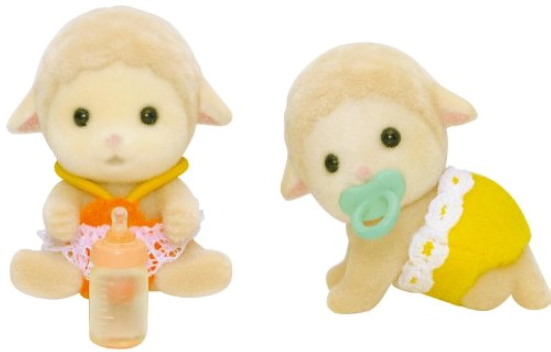 シルバニアファミリー(Sylvanian Families) ひつじのふたごの赤ちゃん(Sheep Twins) [並行輸入品]