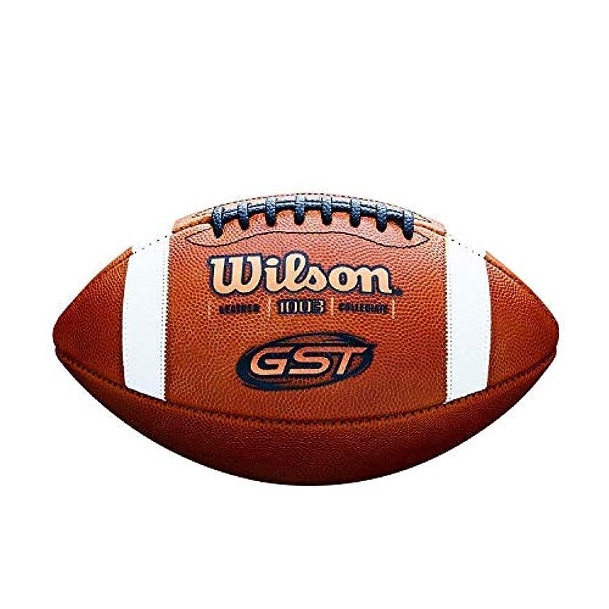 解放読みやすいガラガラWilson GST NCAA ゲームフットボール