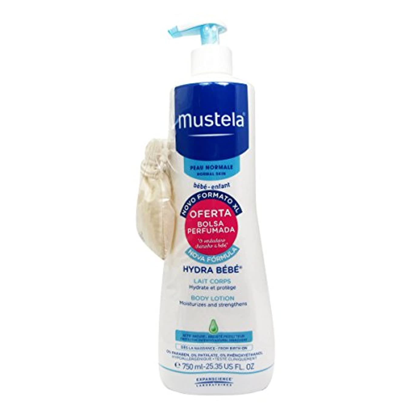 剣揮発性蜜Mustela Baby Hydra Body Lotion 750ml [並行輸入品]