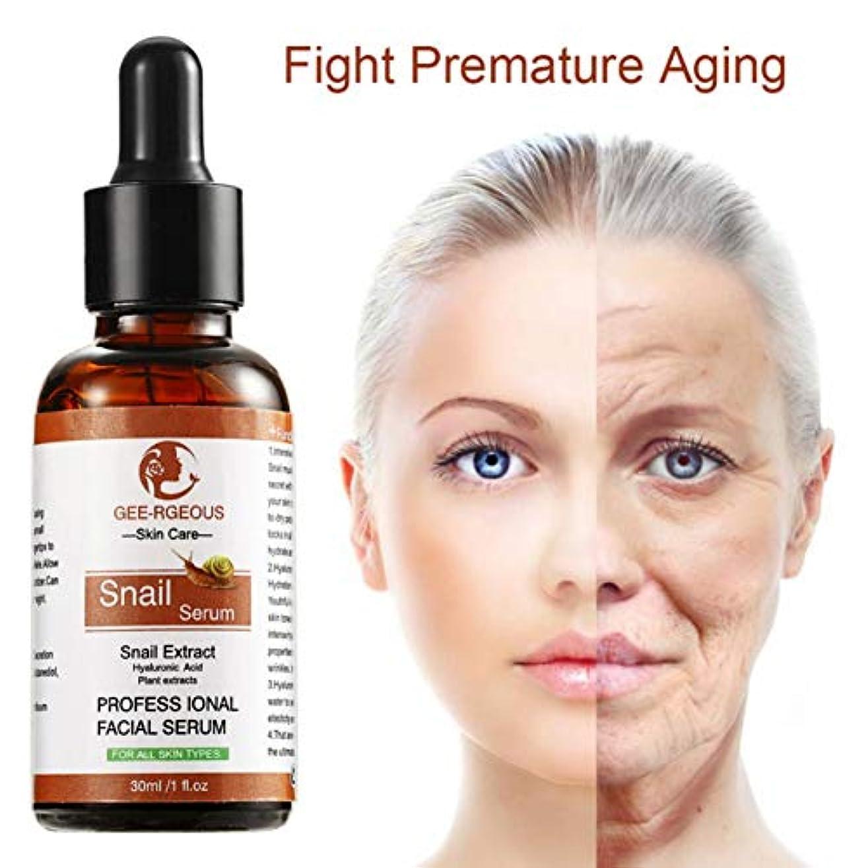 調査翻訳会議かたつむりの血清の保湿の固まる皮の滑らかで良いライン反老化のヒアルロン酸の本質