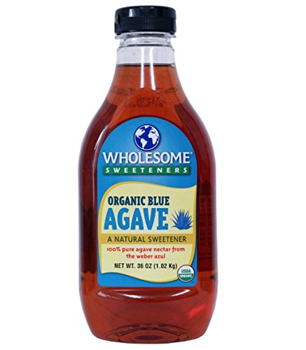 WHOLESOME 有機 ブルーアガベ シロップ 1.02kg 100%ピュア オーガニック JAN0012511203603