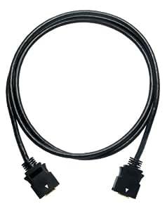 SOLIDCABLE D端子ケーブル 1.5m ブラック ビデオケーブル 金メッキ トリプルシールド #3000A/1.5