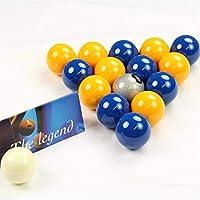 独占! Aramith Premier SILVER 8 BALL Editionブルー&イエロープールボール